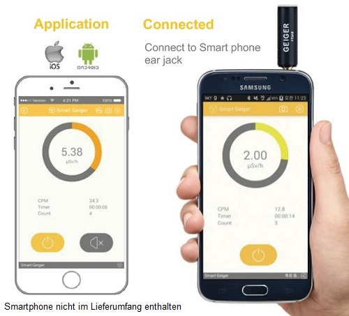 Smart Geiger Counter Radiation Meter Android Iphone Smg